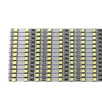 UK led rigid strip smd - 4mm Wide Brightness 100cm Factory Wholesale Two Rows of White   Warm White DC 12V 72 SMD 2835 LED Hard Strip Rigid LED Light Bar