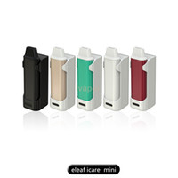 Wholesale Puts Stock - In Stock Eleaf iStick iCare Mini Kit 320mAh 1.3ml Out Put Max 15w New coil IC 1.1ohm Heads