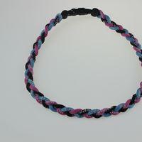 "Wholesale Customize Titanium Necklaces - 25pcs customized necklace 18"" 20'' 22'' Titanium Sport Tornado Necklace Baseball Ionic FREE SHIPPING USA Twist"