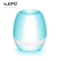 Wholesale Cheap Speakers Subwoofer - Flower pots Top Colorful light lamp Wireless Cheap Great Sounding Best Bluetooth Speaker for home office classroom apartment