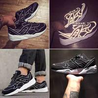Wholesale Glory Plastics - Wholesale Best Qualtiy Freaker Blaze Of Glory Trinomic R698 Men's Shoes Oreo Black 3M Reflective Running Sneaker Free Shipping