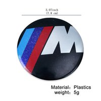 10Pcs / Lot Auto Sticker Car M Sport 82mm Bonnet Badge Logo Emblemas M3 M5 M6 330i 530i D X5 X3 X6 M Sport