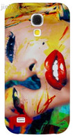Wholesale Galaxy S4 Case Marilyn Monroe - Wholesale-Popular Painting Marilyn Monroe Bubble phone case hard painted Back cover Skin Shell for Samsung galaxy S4 mini I9190