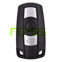 Wholesale Bmw Key 868mhz - Smart Remote Key 3 Button 868MHZ With ID7944 Chip CAS3 for BMW 1 3 5 6 7 Series