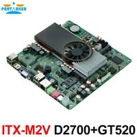 Wholesale Partaker Slim Mini ITX Motherboard Atom D2700 with NVIDIA ION3 GT520 for IPC HTPC HDMI VGA Display