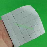 Vente en gros- 35PCS Lot 15X15x1MM Xbox PS PC VGA GPU SMD DIP IC Chip Disperseur Silicone Conduction Thermal Paste Compounds Pad