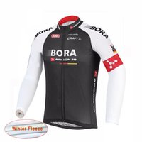 Wholesale Cycling Jersey Women Long Sleeve - Bora Argon 18 ropa ciclismo hombre 2017 Long Sleeve pro cycling jersey mtb bike maillot Winter Thermal Fleece Bicicleta clothing B2103