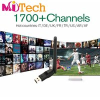 Wholesale Tv Receivers Box - IUDTV IPTV Account Apk 3 6 12 Months Europe Arabic Sky IT TR UK DE 1700+ Channels Support Android box m3u Enigma2 Mag 250 254