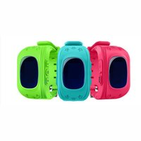 Wholesale gps gsm gprs tracker watch remote resale online - Smart watch Children Kid Wristwatch GSM GPRS GPS Locator Tracker Anti Lost Smartwatch Child Guard for iOS Android