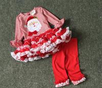 Wholesale Girls Winter Short Pants - Halloween Clothing Christmas Baby Kids Clothes Pumpkin Top+Short Pants 2 Pcs Suit 2016 Halloween Outfit Clothing Set