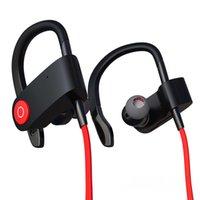 Wholesale Luxury Cell Earphones - 2016 High Quality Bluetooth Ear Hook Wireless Earphone for Women Men Sports Jogging Stereo Luxury Brand Headset Earphone