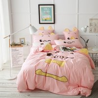 Courtepointes Pour Ados Pas Cher-2017 Hot Gifts Dovet Covers Reine King Pink Pig Pig Pig Couettes Quilts Literie Oreiller Sham Teen Girl Literie Couvre-lits 100% coton