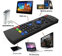 MX3 Mini Wireless Keyboard Fly Air Mouse Remote G Sensing Гироскоп Датчики MIC Combo для MX3 MXQ M8 M8S S905 Android TV BOX