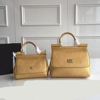 Wholesale Totes For Doctors - 2016 Direct Selling 2017 New Style Lady Genuine Leather Solid Simple Fashion Hand for Palmprint Mini Bag Color Single Shoulder Tote Inclined