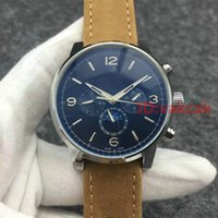 Wholesale Brand Ss - Leather A2813 Black Automatic Movement Sport Top white luxury brand Men's Mechanical Business Watch SS mens Self-wind Watches AAA Wristwatch