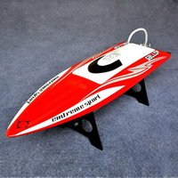 Wholesale boat brushless motor - Wholesale- Gallop Fiber Reinforced Plastic Electric Brushless Boat with B3653 Motor 90A ESC with Bracket Free-Adjustment without receiver