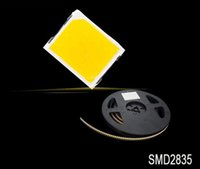 Wholesale Smd Smt Leds - Wholesale- Led Lamp SMD Led Diode SMD 2835 Natural White 1000pcs 21-23LM 4000K 0.2W 60mA super-bright-leds Free Shipping SMT Reel