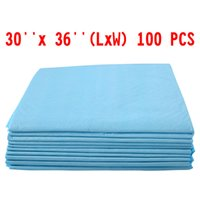 Wholesale training pads dogs - 100 PCS 30 x 36 Puppy Pet Pads Dog Cat Wee Pee Piddle Pad training underpads