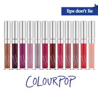 Wholesale Sexy Retail Package - 2017 Hot Sale COLOURPOP 10 Colors Super Matte Lipsticks With Retailing Package Nutritious Sexy Woman Lipsticks Drop Shipping Free Shipping
