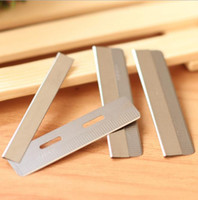Wholesale Eyebrow Shaving Tool - 10PCS Razor Blade 100%Original Stainless Steel Feather Shaving Eyebrow Blade Shaving Sharper Cosmetic Tool