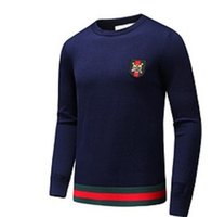 Wholesale Autumn Cashmere Sale - Hot sale autumn and spring New paragraph high-quality cashmere fashion badge sweater Men's casual and personality sweaters M-XXXL