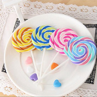 Wholesale Novelty Pencils Erasers - Cartoon Erasers Candy Funny Rubber Eraser Office and Study Kids Gifts Cute Stationery Novelty Lollipop Erasers
