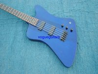 Wholesale Best China Bass Guitar - Bass Guitars 5 Strings Electric BASS In Blue New Arrival Wholesale From China Best Selling