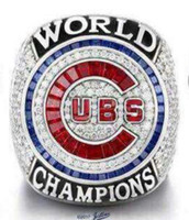 Wholesale High Quality 18k Gold Plated - Free Shipping high quality 2017 Wholesale 2016 Chicago Cubs World Series Championship Ring Baseball souvenir Sport Fan Men Gift wholesale