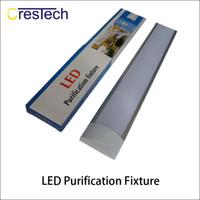 светодиодные экраны оптовых-T8 Tube LED tri-доказательство свет половая доска 2FT 3FT 4FT взрывозащищенный два светодиодные лампы трубки заменить люминесцентные светильники потолочная решетка лампа