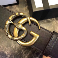 Wholesale Promotional Leather - men G buckle belts. New genuine leather original with box promotional luxury famous brand designer fashion