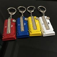 honda araba anahtar kapağı toptan satış-Çinko alaşım Araba Yarışı Anahtarlık Oto Parçaları Honda için Modifiye Anahtarlık Motor anahtarlık EK / EG Motor Vana Kapak Chaveiro Llavero Anahtar Kolye