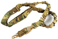 Wholesale multicam camouflage - Adjustable Tactical Sling Belt Single Point Bungee Strap Multicam