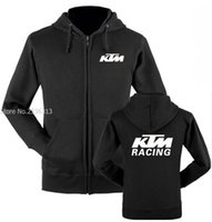 Wholesale Off Road Neck - Wholesale- Men and women fall and winter clothes KTM sweatshirt motorcycle off-road jacket coats