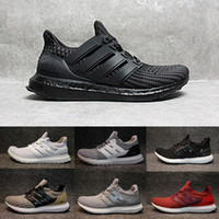 Wholesale Floor Fabric - 2017 White & Black Ultra Boost Running Shoes 4.0 blue green CNY Oreo Men Women Ultraboost 3.0 Athletic Shoes Sports Sneakers 36-47