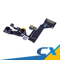 Wholesale Top Quality Iphone Cables - New Front Facing Camera with flex cable Replacement Top Quality For iPhone 5G 5C 5S 6G 6Gplus 6S 6Splus Free DHL