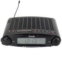 Wholesale ats radio - Wholesale-TECSUN MP-300 FM Stereo DSP Radio USB MP3 Player Desktop Clock ATS Alarm