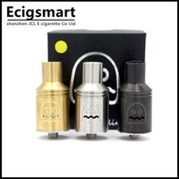 Wholesale E Cigarttes - Wholesale- Goblin RDA Atomizer 4 Posts RDA Goblin Vaporizer Tank for 510 Mechanical Mods ego e cigarttes