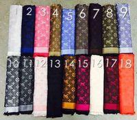 Wholesale blue velvet scarf - Beige Check Wool Cotton Cashmere Silk Scarves Scarf Wrap Shawl Pashmina 140x140cm