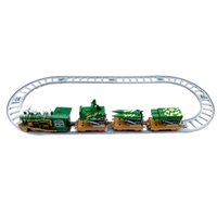 Wholesale Electric Car Toy Baby - Kids Toys green electric rail Train Engines & Train Cars Cartoon Collection Compatible Railway Trains Friends Model Best Baby Gifts