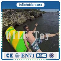 Wholesale inflatable game sales for sale - Group buy x2m hot sale water blob jump inflatable water game toy inflatable water blobs for sale