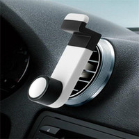 Wholesale Car Air Vent Iphone 4s - Practical Car Air Vent Mobile Phone Holder Mount for Cellphone iPhone 4 4S 5S Phone accessories