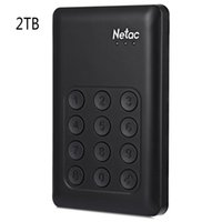 Wholesale Hard Drive 2tb - Wholesale- Original Netac K390 500GB 1TB 2TB SSD USB 3.0 External Hard Drive Hardware Encryption with Independent Keypad Lock AES 256-bit