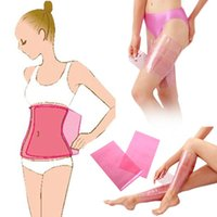 Wholesale Weight Loss Body Wraps Wholesale - Hot New Fashion Sauna Beauty Slimming Belt Burn Cellulite Fat Body Wraps Leg Thigh Shaper Weight Loss Products Cheap Z1