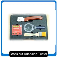 Wholesale Multi cutting blades Cross Hatch Cutter for adhesion tests cross cut tester adhesion tester Cross Hatch Adhesion Tester ISO ASTM standards