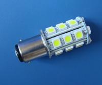 Wholesale 12v Ac Bulb Edison Led - BA15D 1142 LED bulb Boat lights 24-5050 SMD Super Bright 300LM AC DC 12~24V DC12V White or Warm White Light Lamp