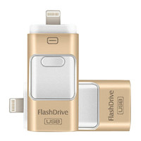 3 en 1 OTG USB3.0 Flash Drives 8 Go-16 Go-32 Go-64 Go Memory Stick Pendrive i Flash Drive pour iPhone x 8 7 6 Samsung Huawei