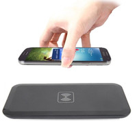 Wholesale Wireless Charger Mat - Power Qi Wireless Charger Charging Pad Mat for Samsung Galaxy S6 S7 Edge iPhone 8 X 7 7Plus with Retail Box