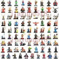 Wholesale 500pcs Mini Building Blocks figures For Individually Single Sale Bricks Toys