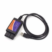 USB outil de diagnostic de voiture USB ELM 327 Interface OBD OBD2 outils de diagnostic