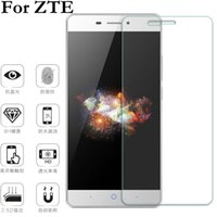 Wholesale Cases For L3 - Wholesale- 2.5D 9H HD Clear Glass Tempered Glass Screen Protector For ZTE Nubia Z7 Z9 Max Mini Blade A452 A475 A510 L3 PLUS L5 S6 Film Case